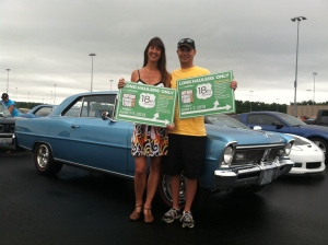 Enjoying the final day of the 2013 Hot Rod Power Tour